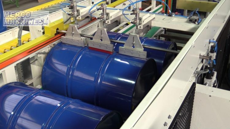 Drum bodies silkscreen printers