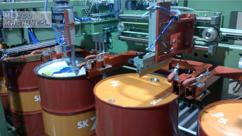 Drums ends silkscreen printers
